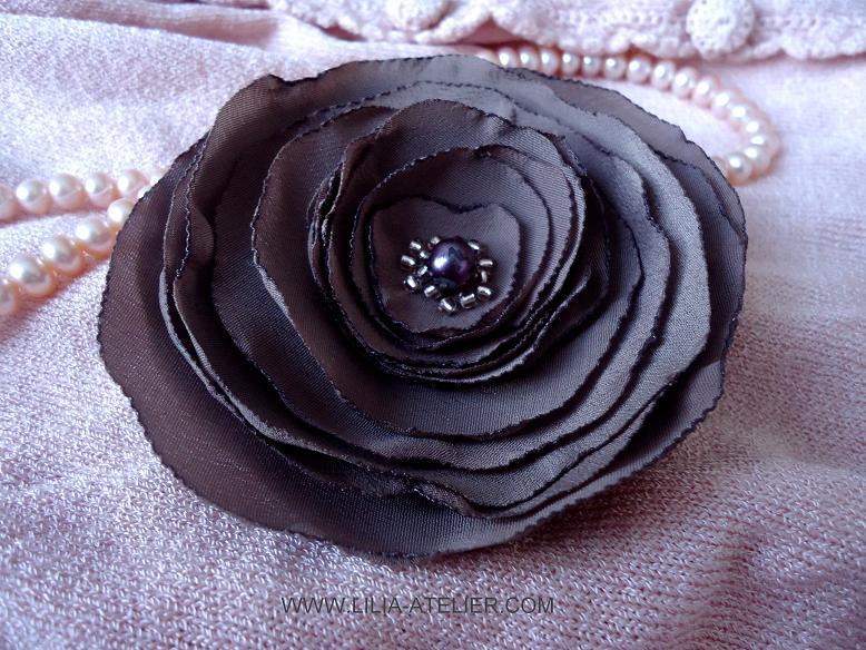 Как сшить цветы из ткани своими руками.